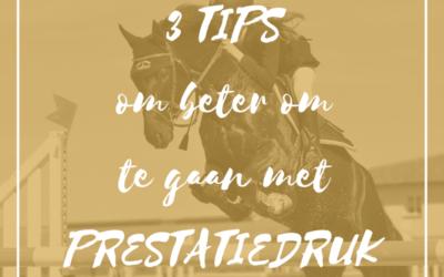 3 tips om beter om te gaan met prestatiedruk